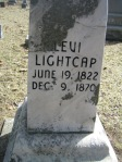 Levi Lightcap Headstone