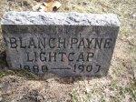 Headstone: Blanche Payne