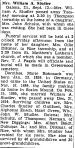 Obituary: Dorothea (Bohnsack) Studier