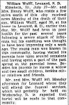 Obituary: William Wulff