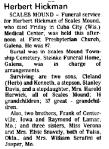 Obituary: Herbert Hickman