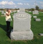 Headstone: John B Davis