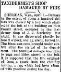 John J. Strelesky's taxidermy shop damaged by fire