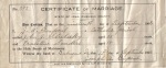 Marriage: John Joseph Strelesky and Ernestine Bertha Sanders