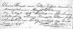 Marriage: Thomas Herod and Ellen Giffin