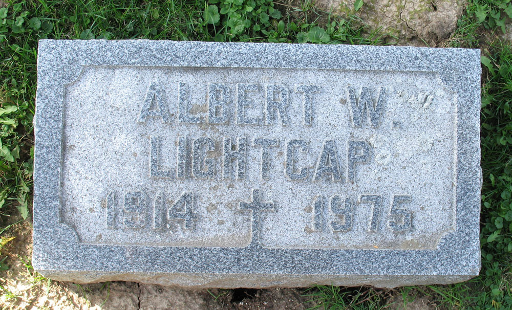 "Albert ""Wally"" Lightcap"