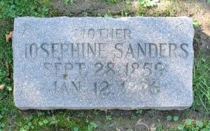 Mary Francis Josephine (Uhlrich) Sanders