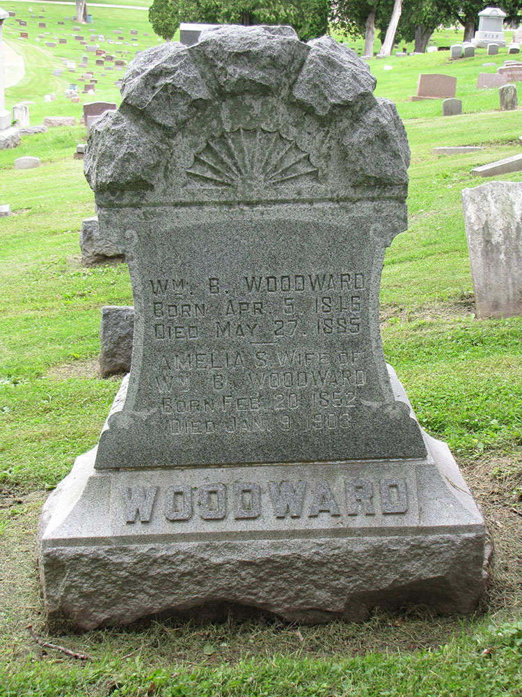 Wiliam and Amelia (Frith) Woodward