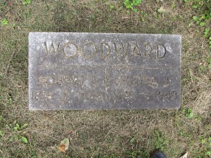Robert and Flora (Uhlrich) Woodward