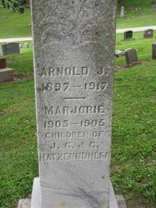Arnold J and Marjorie Hatzenbuhler