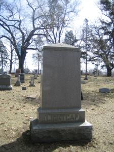 Levi Lightcap Family Headstone