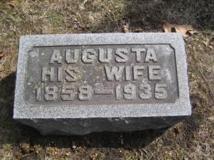 Augusta (Rost) Lightcap
