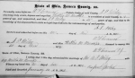 Marriage: Hattie Brooks and Anson Miley