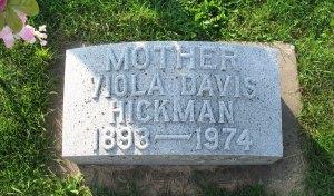 Viola (Bausman) Davis Hickman