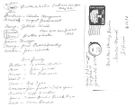 Willis Deininger Letter