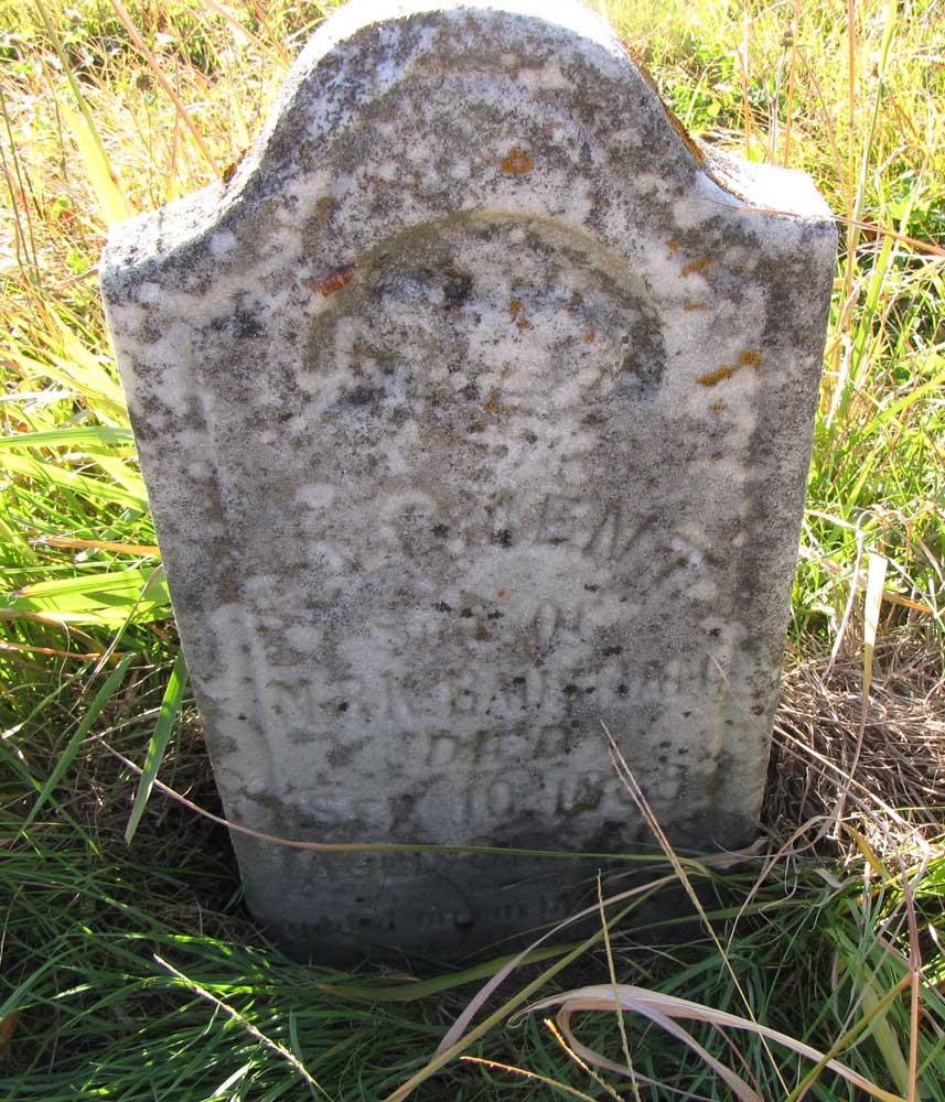 Headstone: Clement Bausman