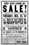 Percy Davis - Public Sale