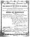 Marriage: Theresa Heid and Frank Joseph Uhlrich