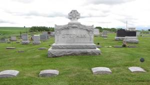 Anton Stephan Family plot