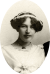 Viola Bausman 1912 High School Graduation