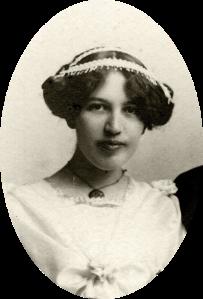 Viola Bausman 1912 High School Graduation