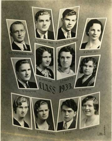 Scales Mound Class of 1933