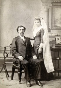 Wedding of George Bausman and Rachel Miller