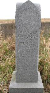 Headstone of Charles Bausman