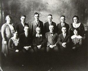 Lawrence Lincoln Bausman Family