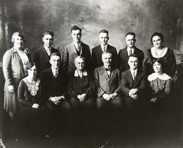 Lawrence Lincoln Bausman Family