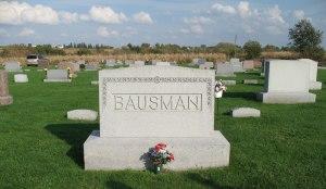 Bausman Headstone