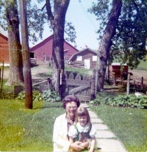 Grandma Davis and me