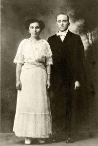 Pearl Bausman and Jack Hesselbacher Wedding