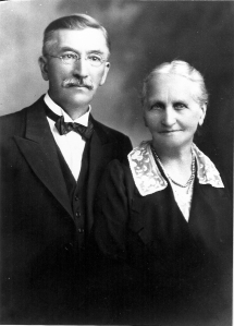 Rev. and Mrs. H.E. Studier (photo courtesy of Ken Kelly)
