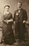 Rev. Herman Emil Studier and Maria Barbara Niedermeyer, 1881 wedding (photo courtesy of Ken Kelly)