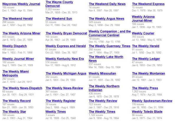 Google Newspaper Archive Snapshot