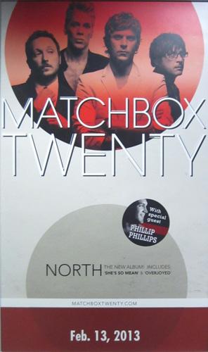 Matchbox Twenty Concert Poster