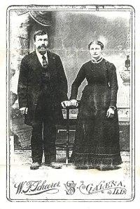 Wilhelm and Dorothea (Bohnsack) Studier